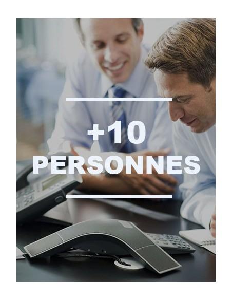 IP + de 10 personnes